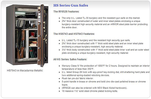 HS Series Gun Safes
