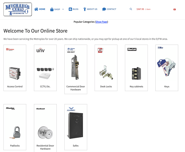 Our Online Locksmith and CCTV Supply Store