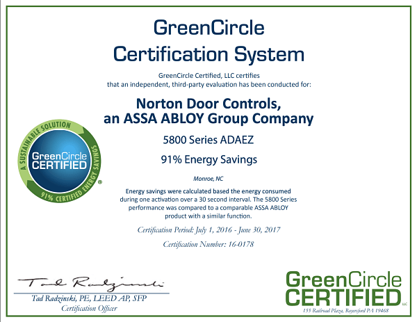 Green Circle Certification